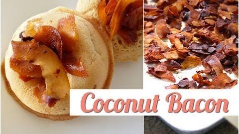 How to Make Coconut Bacon Vegan-3