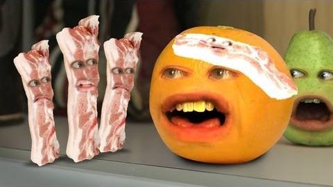 Annoying Orange - Bacon Invaders (ft