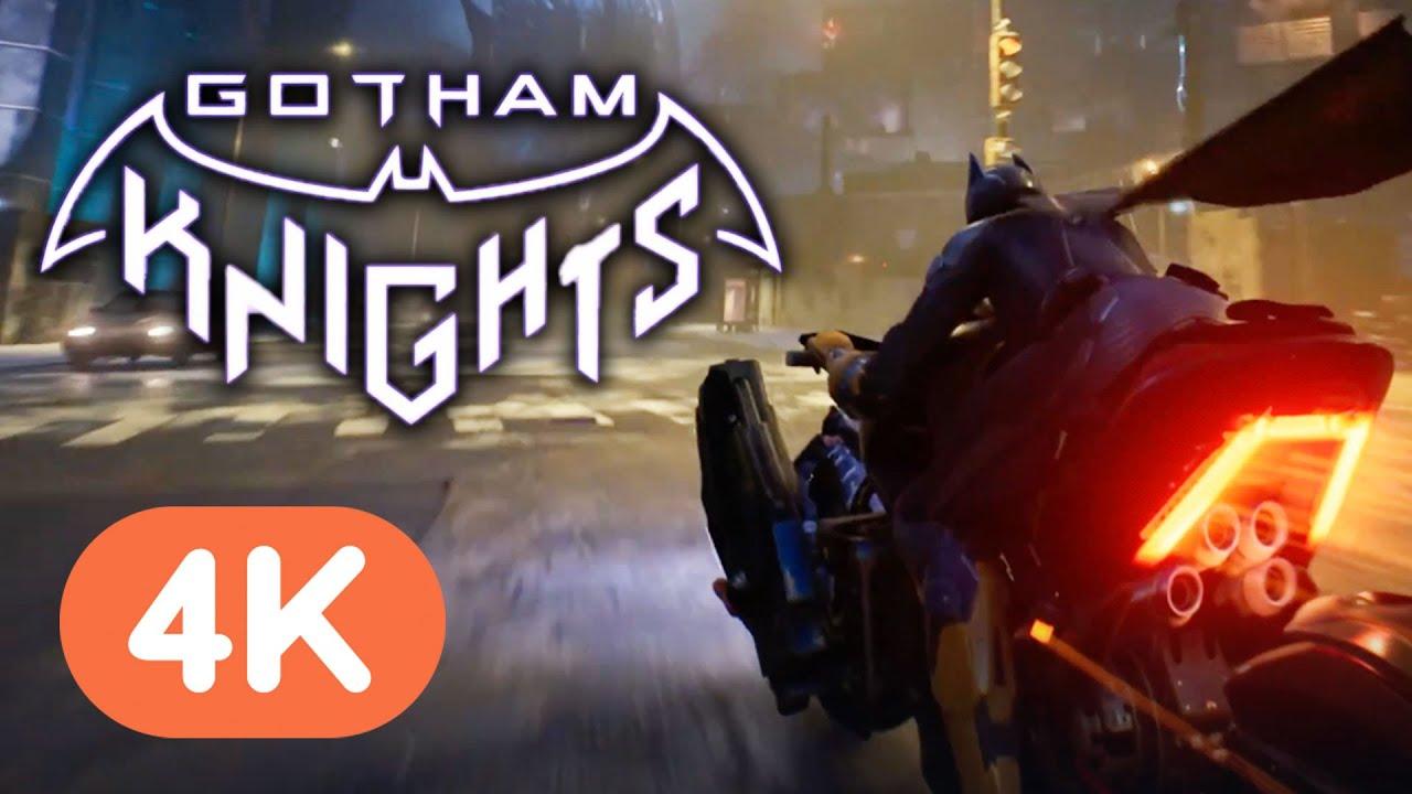 7 Minutes of Batman Gotham Knights Gameplay (4K) | DC Fandome