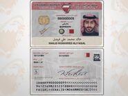 Bahrain Identity Card