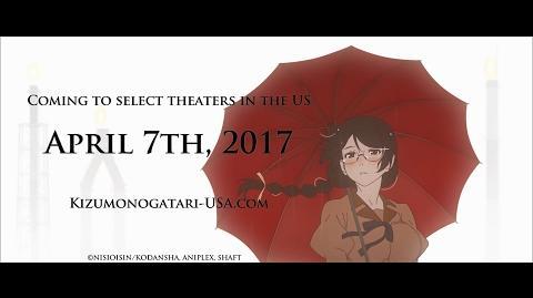 KIZUMONOGATARI PART 3 REIKETSU Trailer