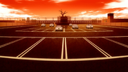 Cram school parking lot