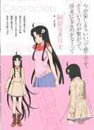 Owari 2 designs tsukihi
