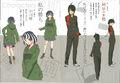 Owari 2 designs - Hanekawa & Koyomi
