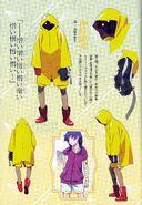 Zoku Owarimonogatari Concept Art - Suruga Kanbaru