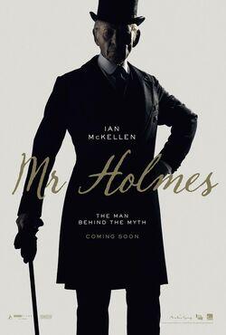 Ian McKellen as 93 year old Sherlock Holmes
