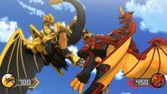 Drago fights Auxillataur