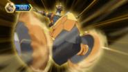 Aurelus Spartillion in Bakugan form