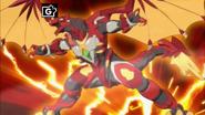 Bakugan Geogan Rising Pyrus Dragonoid