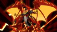 Pyrus Dragonoid becomes Hyper Dragonoid
