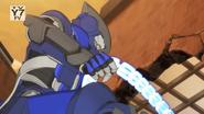 Fade Ninja uses his chains