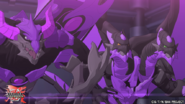 Nillious and Eenoch facing Hydranoid X Aquos