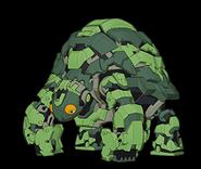 Turtle-like Bakugan Turtonium