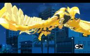 Pyravian flies in the night