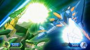Two Spear Fin attacks