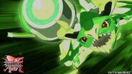 Batrix uses his Baku-Gear