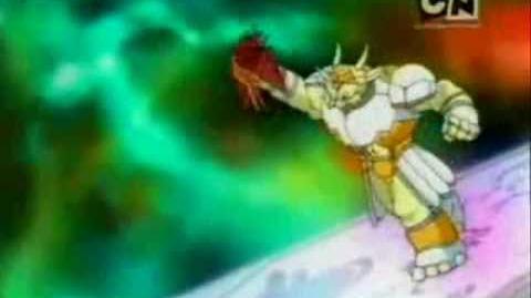 "Bakugan - Odcinek 5 ""Runo rządzi"" Runo vs"