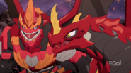 Drago and Behemos in the mission