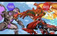 Drago facing Garganoid