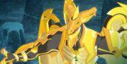 Tiko as a Golden Bakugan