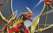 BAA Dragonoid x Auxillataur Ultra Pyrus Aurelus Details