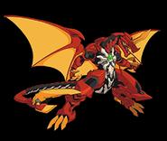 Dragon-like Bakugan Dragonoid-BPP