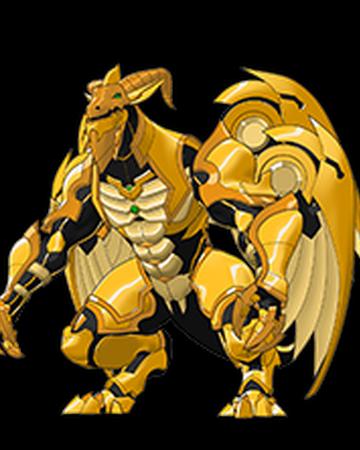 golden dragon bakugan