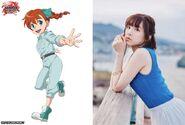 Jenny Hackett's Japanese voice actress