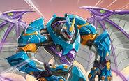 BAA Dragonoid x Tretorous Aquos Darkus Details