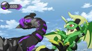 Batrix in the battle