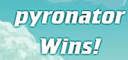 I win!