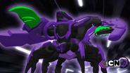 Darkus Vicerox in Bakugan form