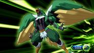 Bakugan Geogan Rising Ventus Falcron 0
