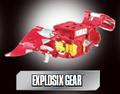 Explosix gear poster