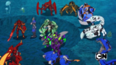 The Awesome Ones Bakugan with other Bakugan