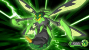 Barbetra (Bug-like Bakugan)