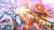 Dragonoid X Aurelus facing Buzz