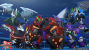 Five Fusion Bakugan (Night time)
