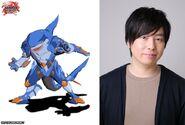 Sharktar's voice actor