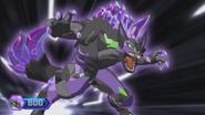 Hyenix in Bakugan form