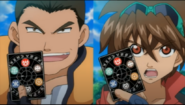 Dan and Shuji using a Field Card