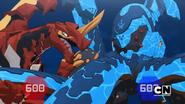 Drago and Krakelios fight