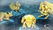 Four Golden Bakugan
