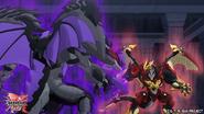 Dragonoid Infinity fights Sabrus