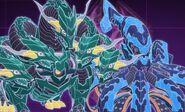 Krakelios and Hydranoid (Before fusing)
