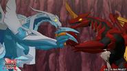 Drago facing Sairus