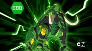 Ventus Trunkanious in Bakugan form