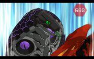 Darkus Fangzor in the battle