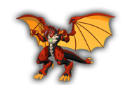 Dragon-like Bakugan Dragonoid-AA
