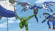 Masato and his minions attack